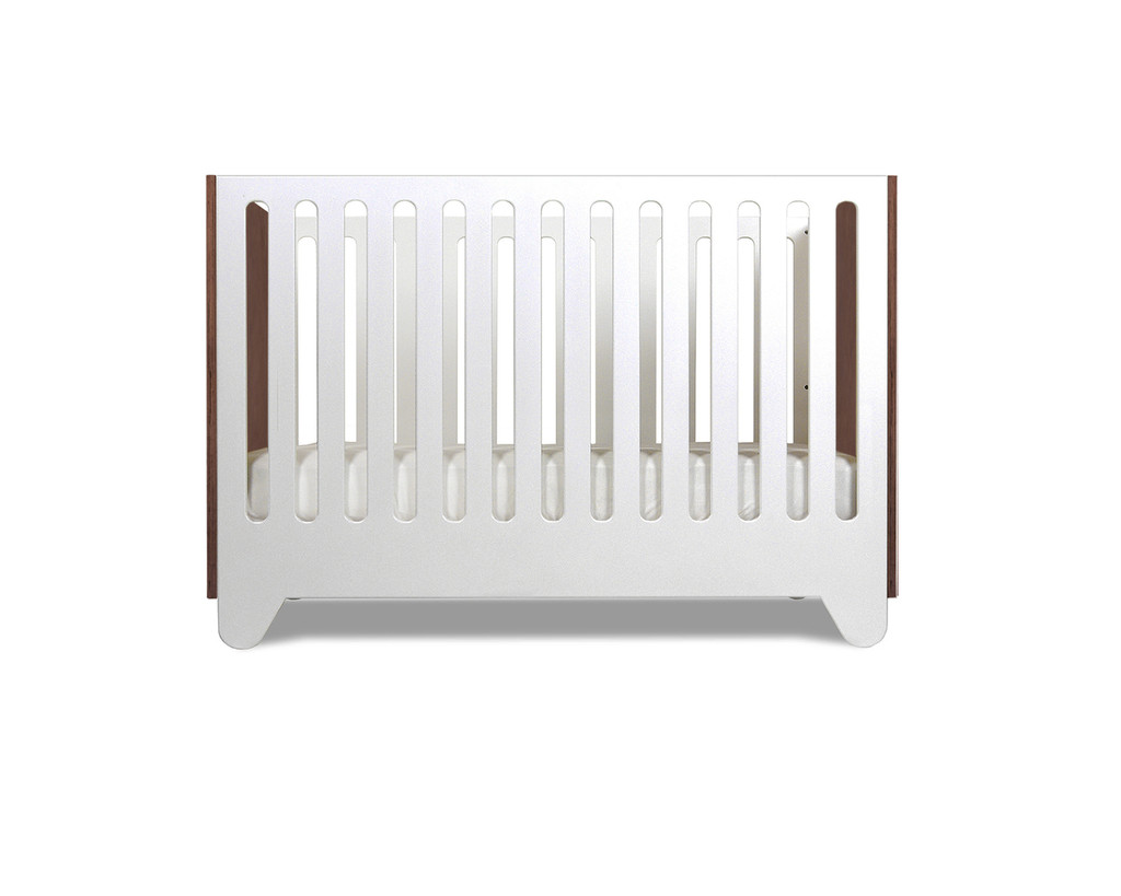Hiya Crib Walnut Stained End Panels