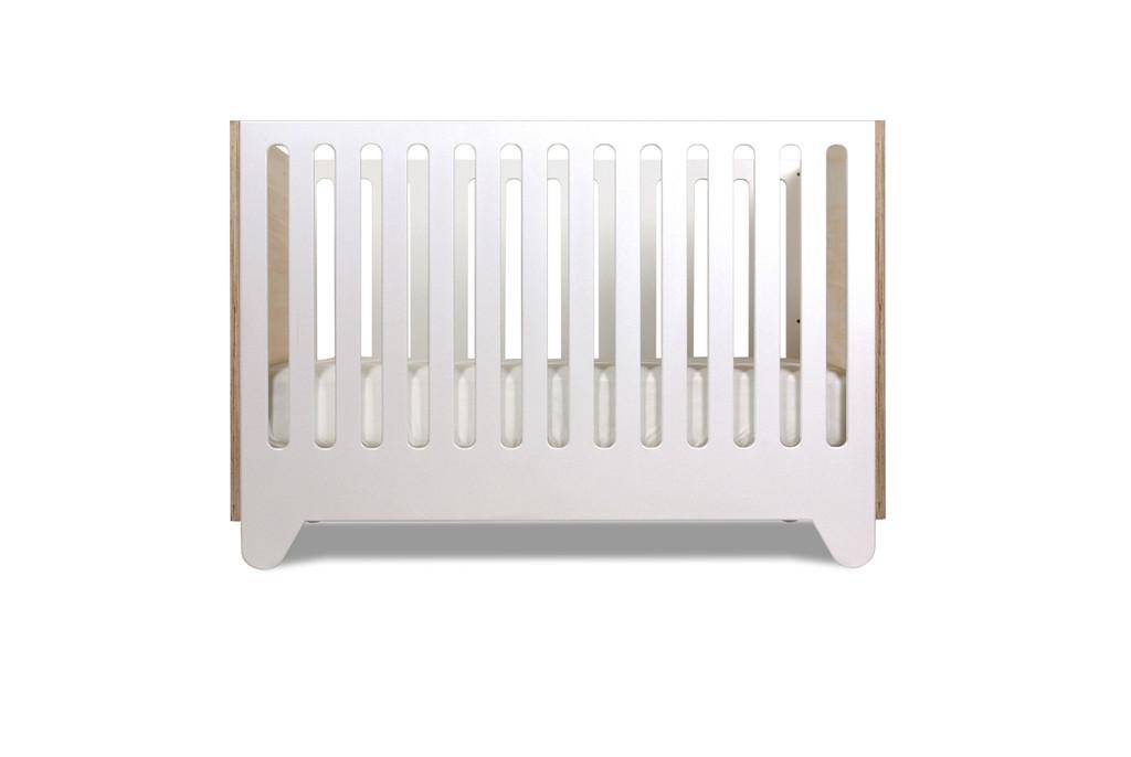 Hiya Crib shown in Birch