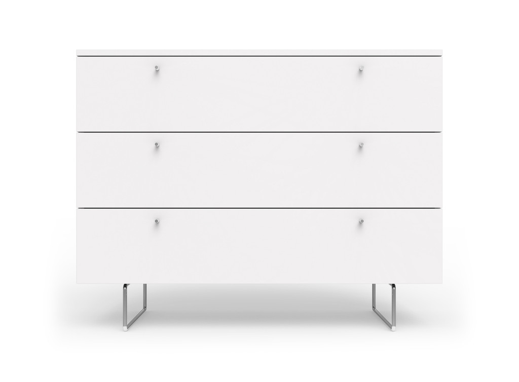 Alto Dresser White Drawer fronts