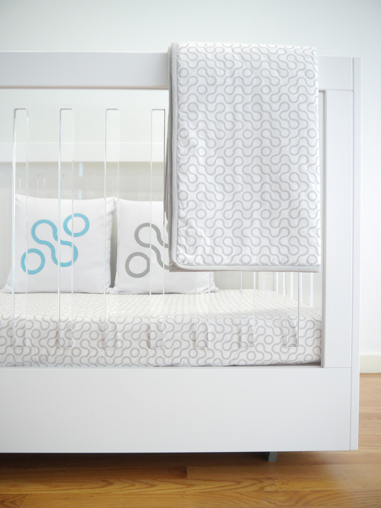 Join Organic Crib Sheet - Grey