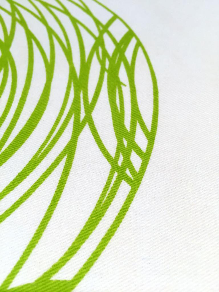 Spun Pillow - Green