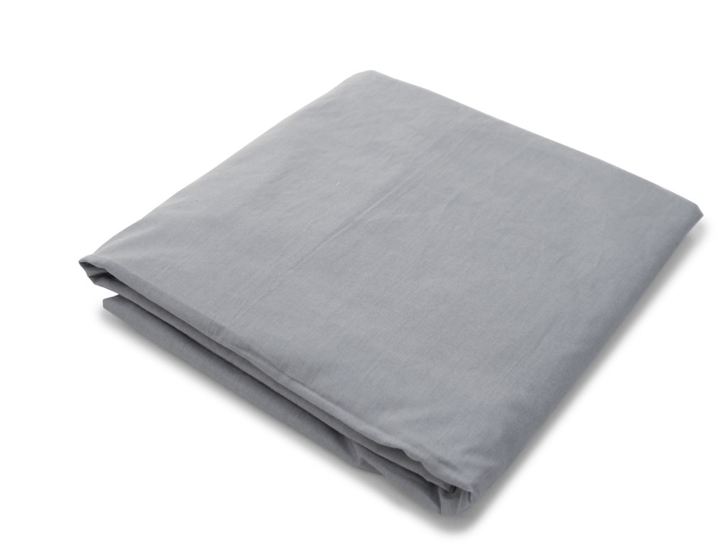 Organic Crib Sheet - Grey