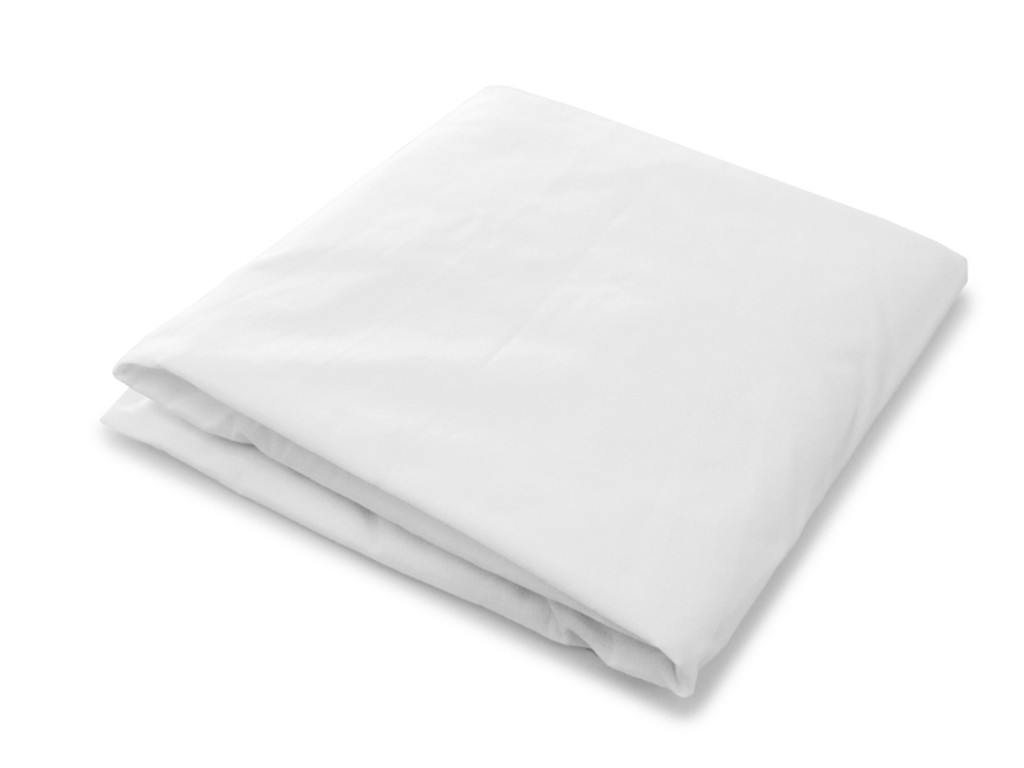 Organic Crib Sheet - White