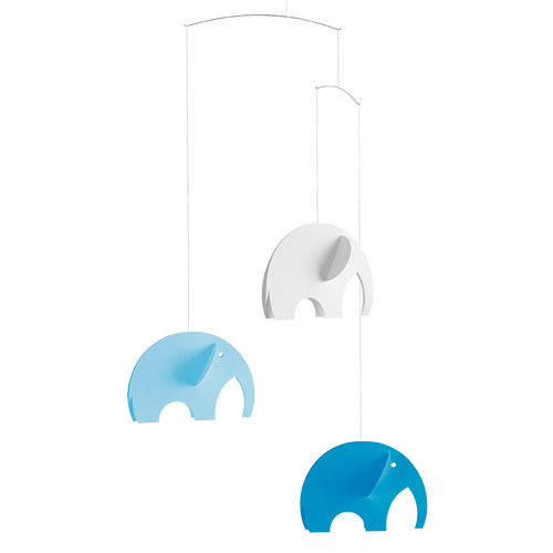 Flensted Mobiles  - Olephants Blue
