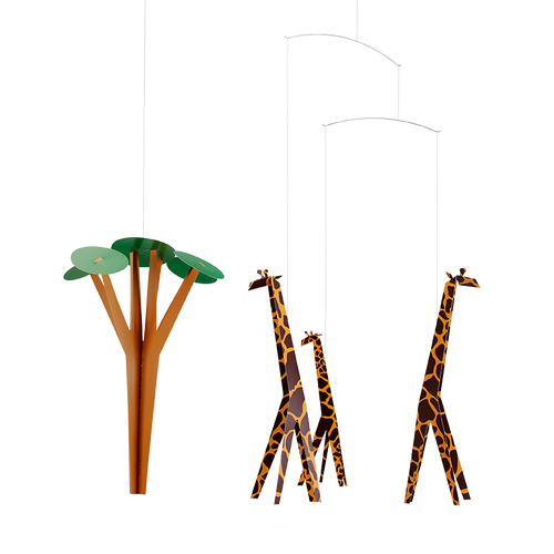 Flensted Mobiles  - Giraffes on the Savannah