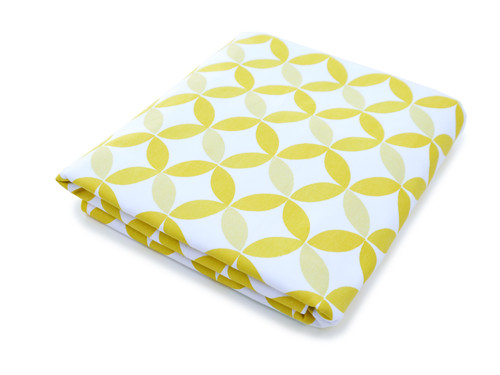 Tops Organic Crib Sheet - Yellow