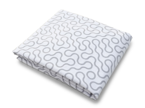 Join Organic Crib Sheet - Grey