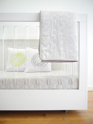 Spun Organic Quilt - Grey