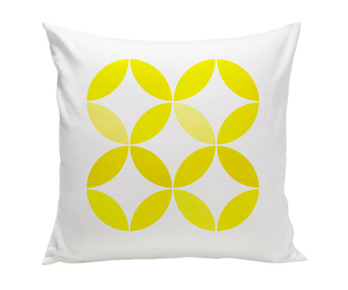 Big Tops Pillow - Yellow