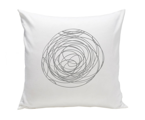 Spun Pillow - Grey