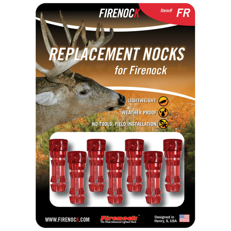 The Firenock FR pack, the most common color choice of this style.