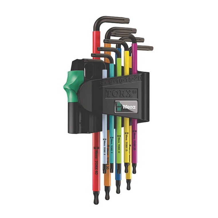 This Wera Torx Set is a sourced, Firenock recommended tool for installing Firenock products such as fasteners from our Titanium Upgrade Fastener Kits.