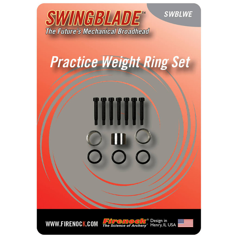 SwingBlade Match Weight Ring Set