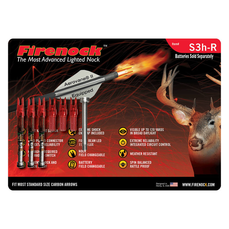 S Style Hunting Firenock Lighted Nock System (3)