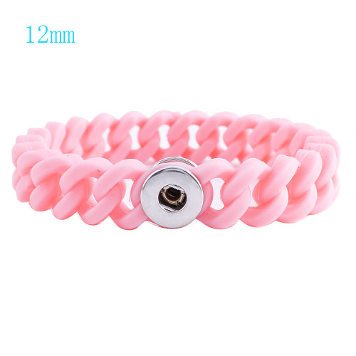 Pink Stretch Bracelet (12mm)