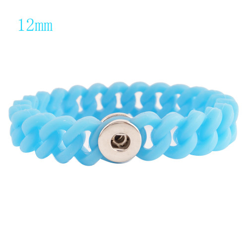 Blue Stretch Bracelet (12mm)