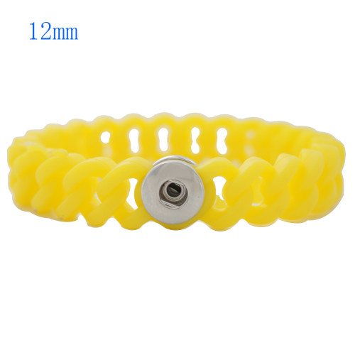 Yellow Stretch Bracelet (12mm)
