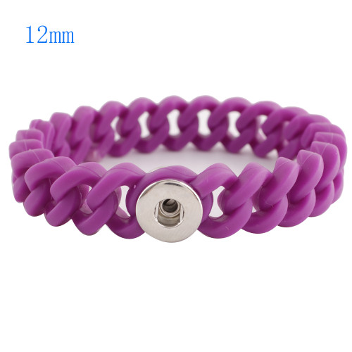 Purple Stretch Bracelet (12mm)