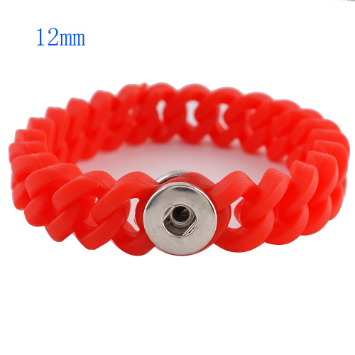 Orange Stretch Bracelet (12mm)