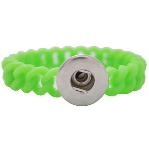 Green Stretch Bracelet (18mm)