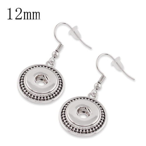 Roped & Edgy Earrings (12mm)
