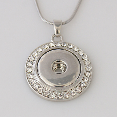 Circle of Crystal Pendant