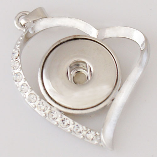 Heart in a Swirl Pendant
