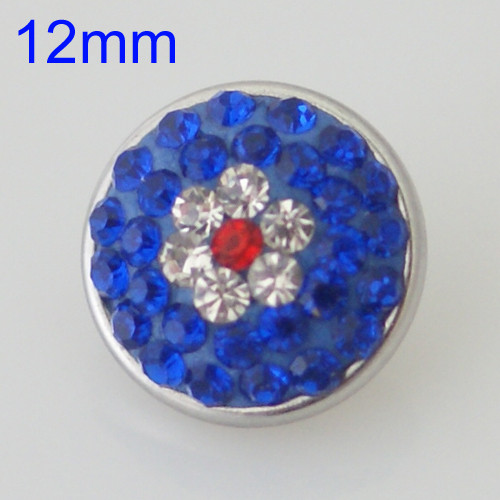 Patriotic Bling Snap (12mm)