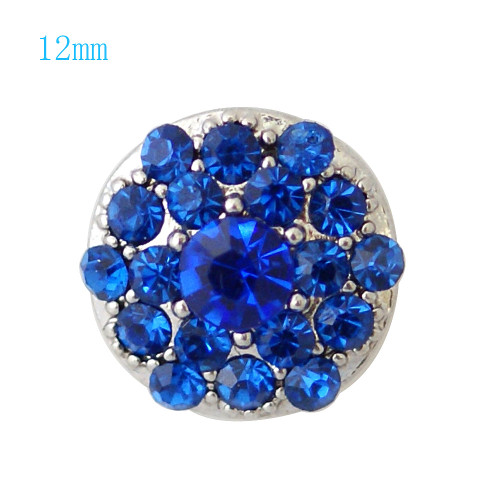 Blue Sparkles Snap (12mm)