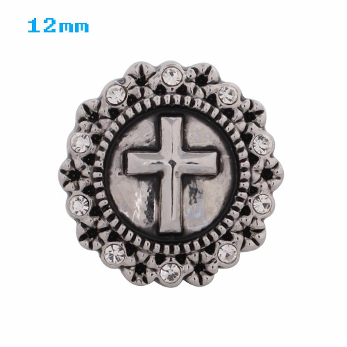 Just the Cross Snap (12mm)