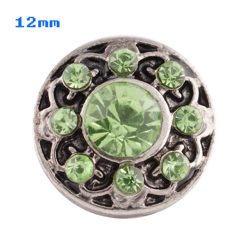 Blooming Green Snap (12mm)