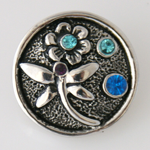 Silver Dragonfly Snap