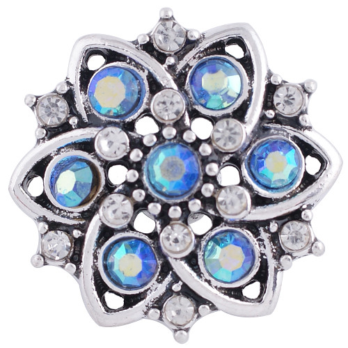 Blue Opal Flower Snap