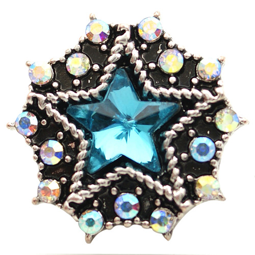 Turquoise Star Snap