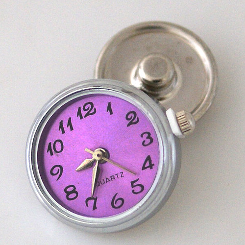 Snap in Time Purple Watch Snap