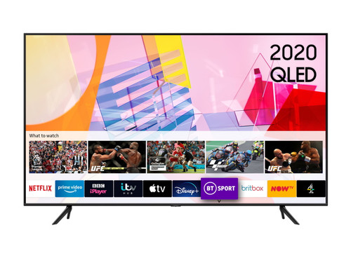"Samsung QE55Q60TAT 55"" 4K QLED Smart TV"
