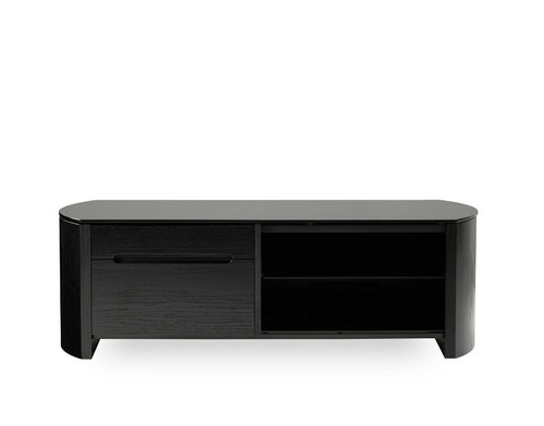 FW1350CB Black TV Cabinet (DISPLAY MODEL ONLY)