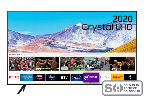 "Samsung UE43TU8000 43"" 4K LED TV"