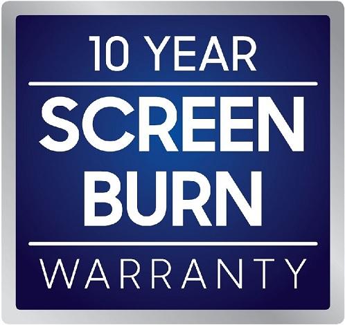 Samsung QE55Q80T 10 Year Screen Burn Warranty