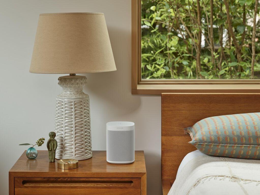 Sonos One G2 Smart Wireless Compact Speaker