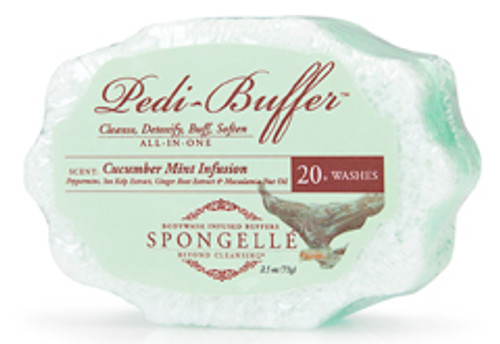 Pedi-Buffer 20+ WASHES Cucumber Mint