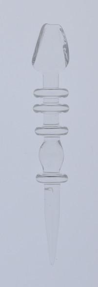 Monkey Boy Art - Clear Scoop Tip Dab Tool (American Glass)