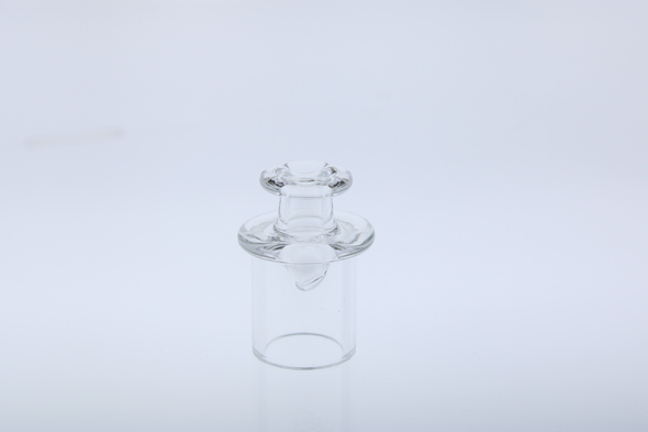 Monkey Boy Art - Clear Airflow Carb Cap (American Glass)