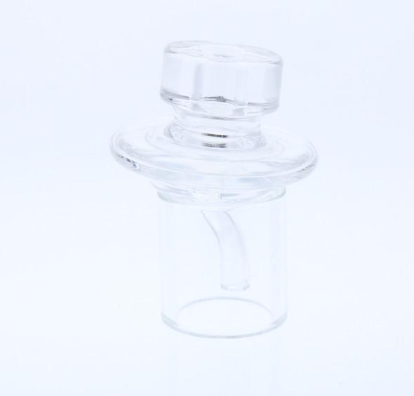 Monkey Boy Art - Clear Long Airflow Carb Cap (American Glass)