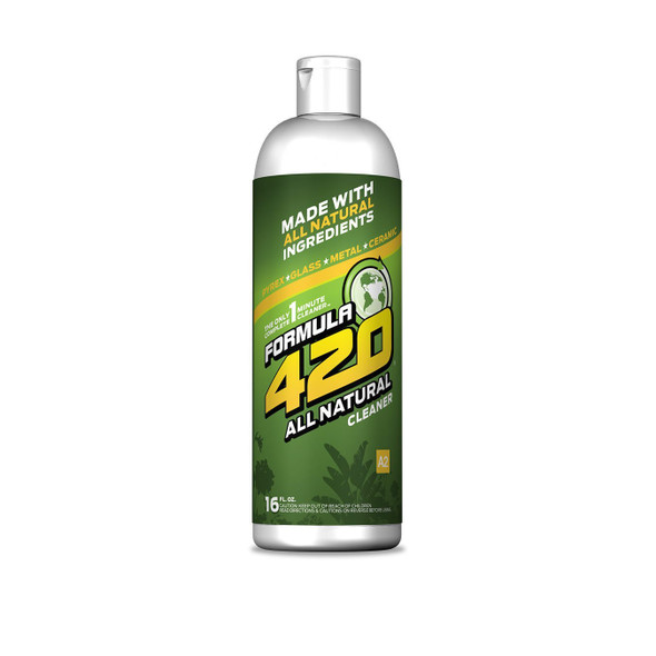 Formula 420 All Natural - Pyrex Glass Metal Ceramic Instant Cleaner for Small Items - 16oz