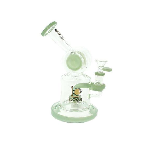 7.8 Inch DJ Water Pipe Lookah Glass Kiwi Green