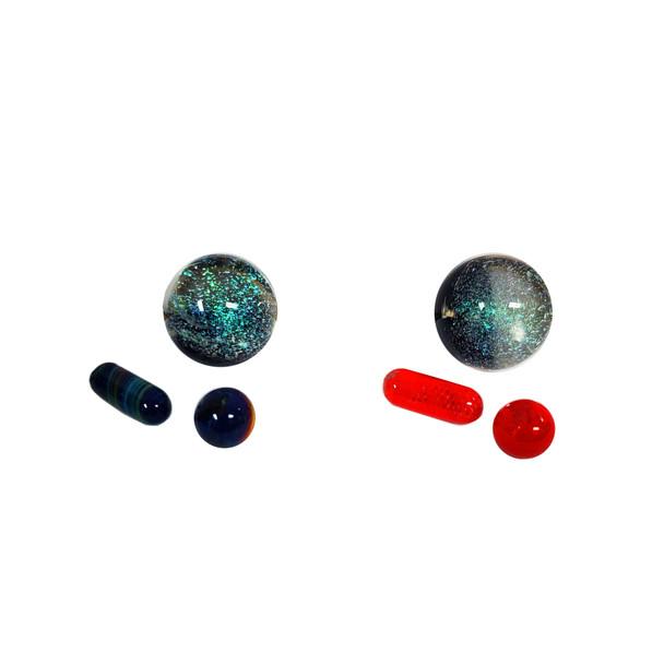 Terp Slurper Marble Set (3 Piece Set)