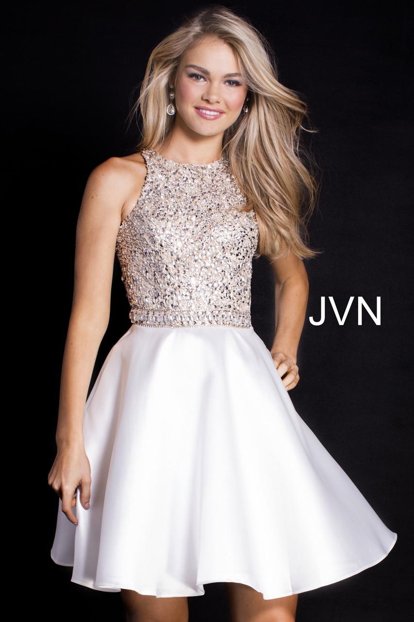 f0c44e64a03f42 JVN by Jovani JVN57782 - B Chic Fashions