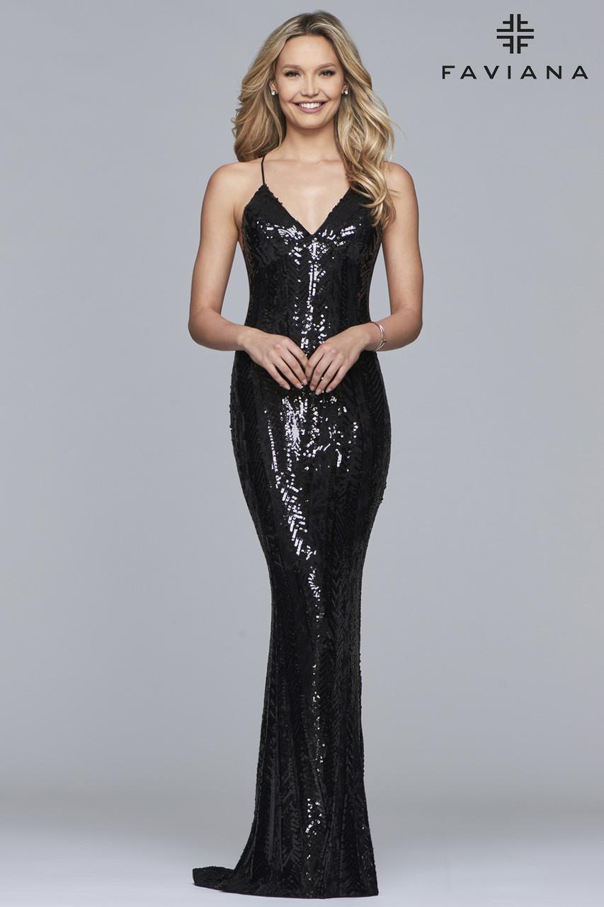 6a0edb8ad118 Faviana S10112 - B Chic Fashions