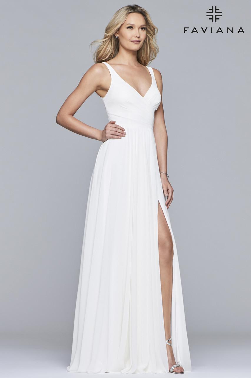 f77cf8cd89 Faviana S10177 - B Chic Fashions